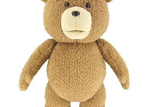 "Ted 24"" Inch R-rated Talking Plush Teddy Bear - Full Size From Movie"