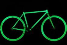 Pure Fix Cycles Glow in the Dark Fixed Gear Single Speed Urban Fixie Bike