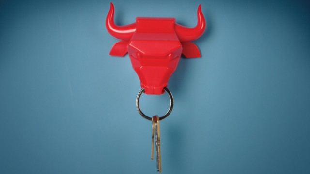 GAMAGO Bull Nose Magnetic Key Holder, Red