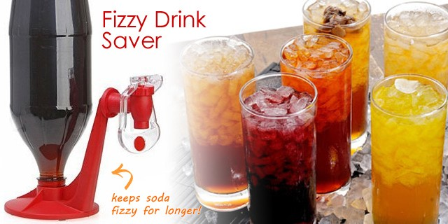 Fizzy Drink Saver, keep soda fizzy for longer!