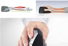 Vertical mouse supports your hand in a relaxed position