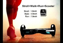 Self Balancing Scooter Drifting Board