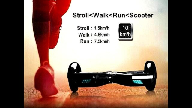 Self Balancing Scooter Drifting Board