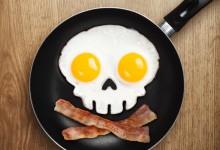 Skull Shaped Fried Egg Mold