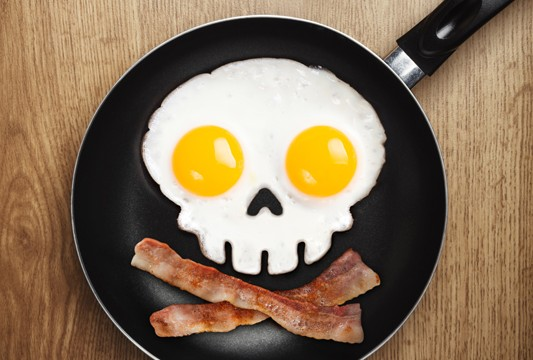 Skull Shaped Fried Egg Mold