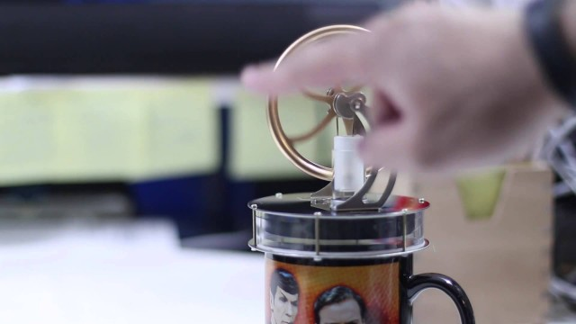 Low Temperature Stirling Engine