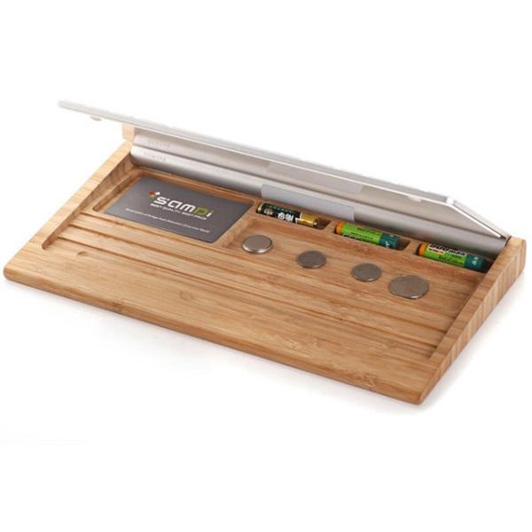 Original Samdi Wooden Keyboard Stand Mobile Holder For Apple Imac Mac Mini Pc Computer Bluetooth Keyboard Nice2buy Com