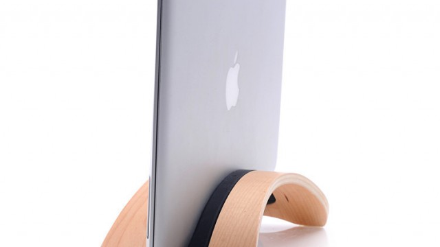 Wooden Notebook Stand