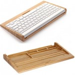 Wooden-Keyboard-Holder-For-iMac-Mac-Mini-PC-Computer-Original-Samdi-Wooden-Bamboo-Keyboard-Bracket-Stand